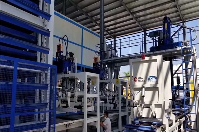 环保透水砖机
